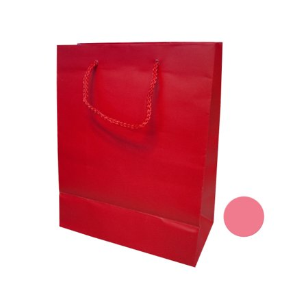 Small Pink  Red Gift Bag (Pack Of 24)