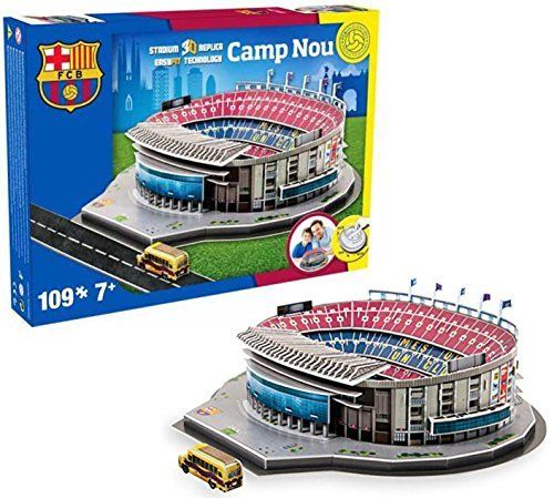 TYSNS 3D Puzzle FC Barcelona Camp Nou Model #34002 by IDEAS PARA EDUCAR S.A DE C.V.