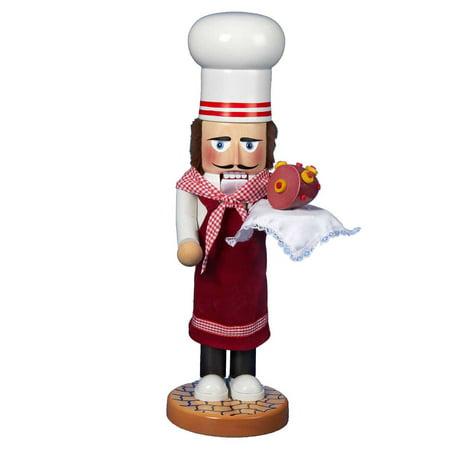 Kurt Adler Steinbach Santa Chef Nutcracker ()