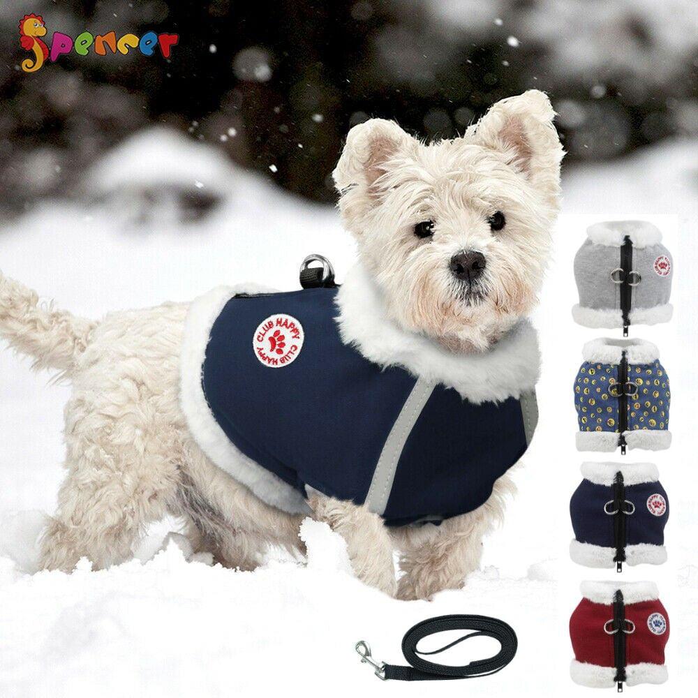 Spencer Windproof Fleece Pet Dog Warm Winter Coat