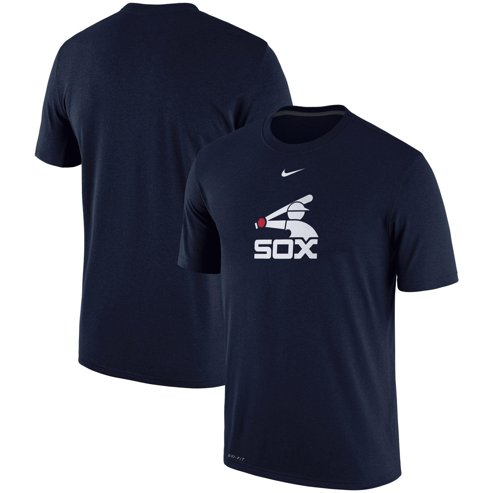Chicago White Sox Nike Batting Practice Logo Legend Performance T-Shirt - Navy