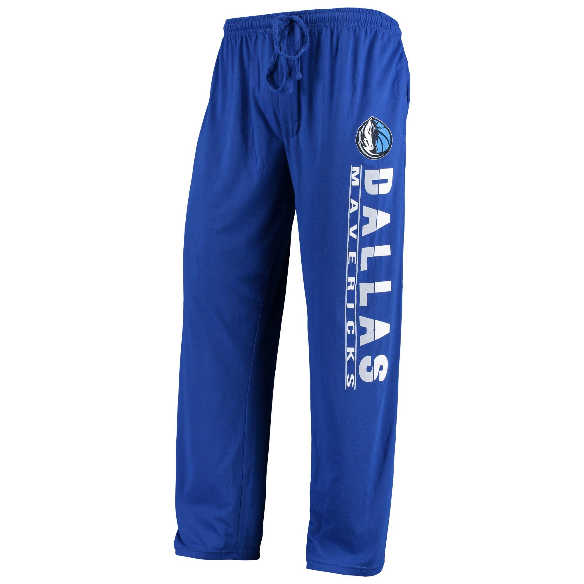 Dallas Mavericks Concepts Sport Solid Knit Pants - Blue