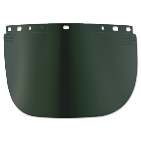 Fibre Metal By Honeywell High Performance Face Shield Window  Wide Vision  Propionate  Dark Green