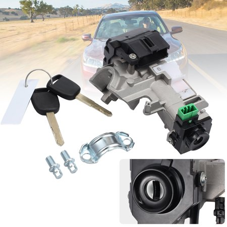 ESYNIC Ignition Switch Cylinder Lock Auto Trans 2 Keys For Honda Accord Civic 2003-2005