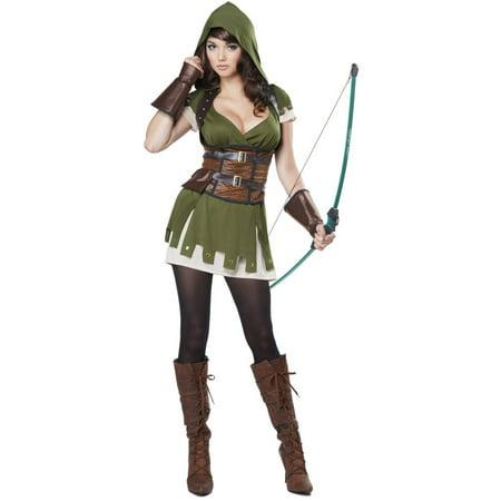 Robin Hood Women's Adult Halloween Costume - Robin Hood Women's Adult Halloween Costume - Walmart.com