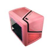 Apevia X-qber-pk No Power Supply Microatx Case [black/pink]