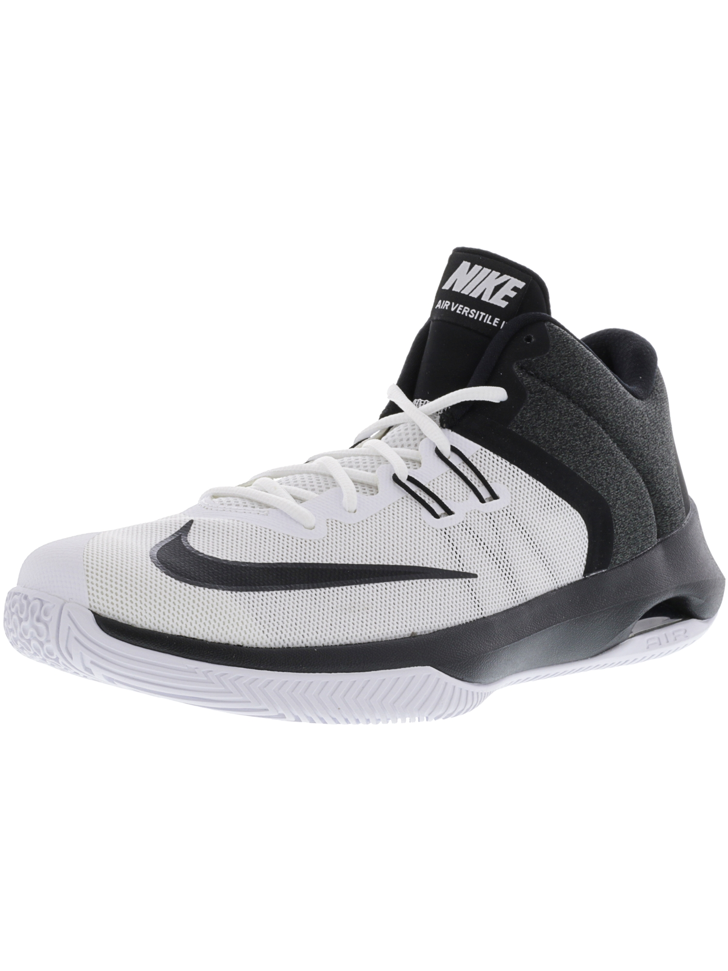super popular a38be 6c3cb Nike Mens Air Versitile Ii Game Royal  Black White Ankle-High Basketball  Shoe - 9.5M