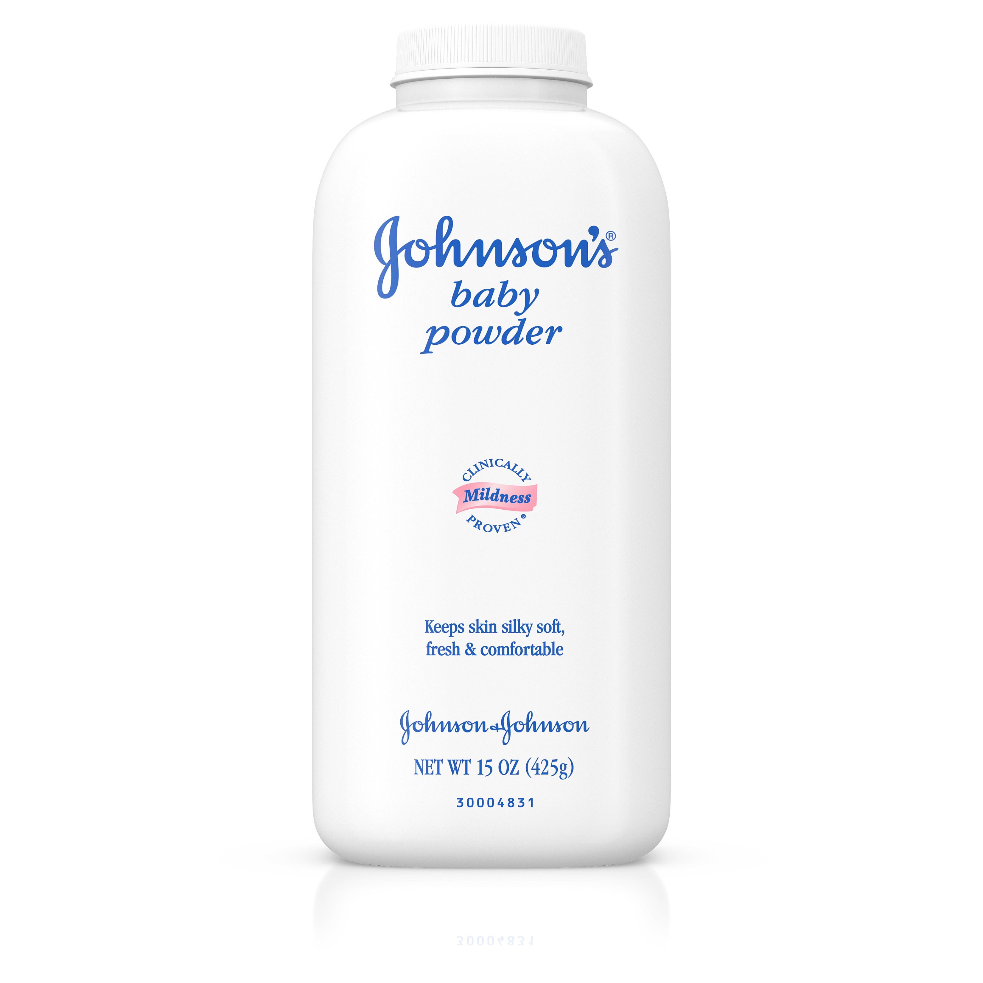 Johnson's Baby Powder For Diaper Rash, 15 Oz.