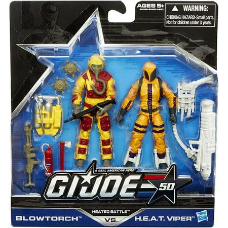 GI Joe 50th Anniversary Heated Battle Action Figure 2-Pack