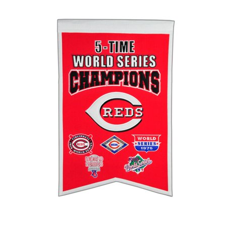 Winning Streak - MLB Champions World Series Banner, Cincinnati Reds