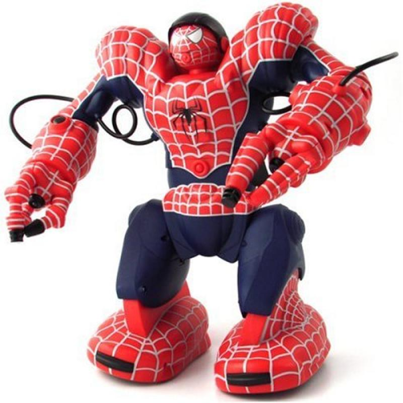 Wow Wee Spidersapien Spiderman Robosapien Robot RC Remote...