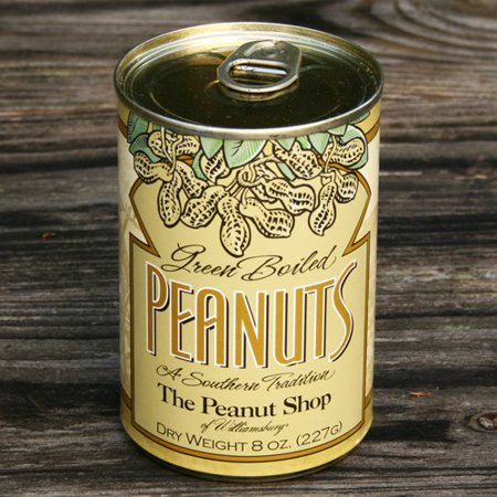 Green Boiled Peanuts by The Peanut Shop of Williamsburg (8 ounce)