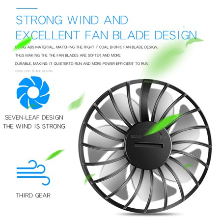 Neckband Fan USB Rechargeable Wearable Aromatherapy Fans Home Use Office Sports Dual-Head Mini Portable Handsfree Fan - image 6 of 7