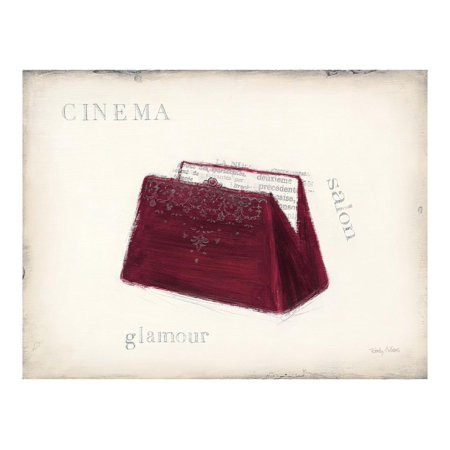 Wall Cinema (Cinema - Glamour Detail Print Wall Art By Emily Adams)