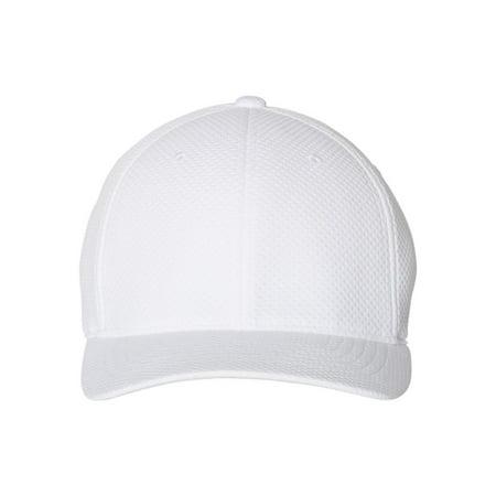 6584 Flexfit Headwear 3D Hexagon Stretch Jersey - Headwear For Dreadlocks