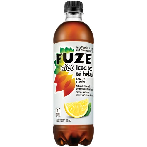 Fuze Diet Lemon Iced Tea, 20 fl oz
