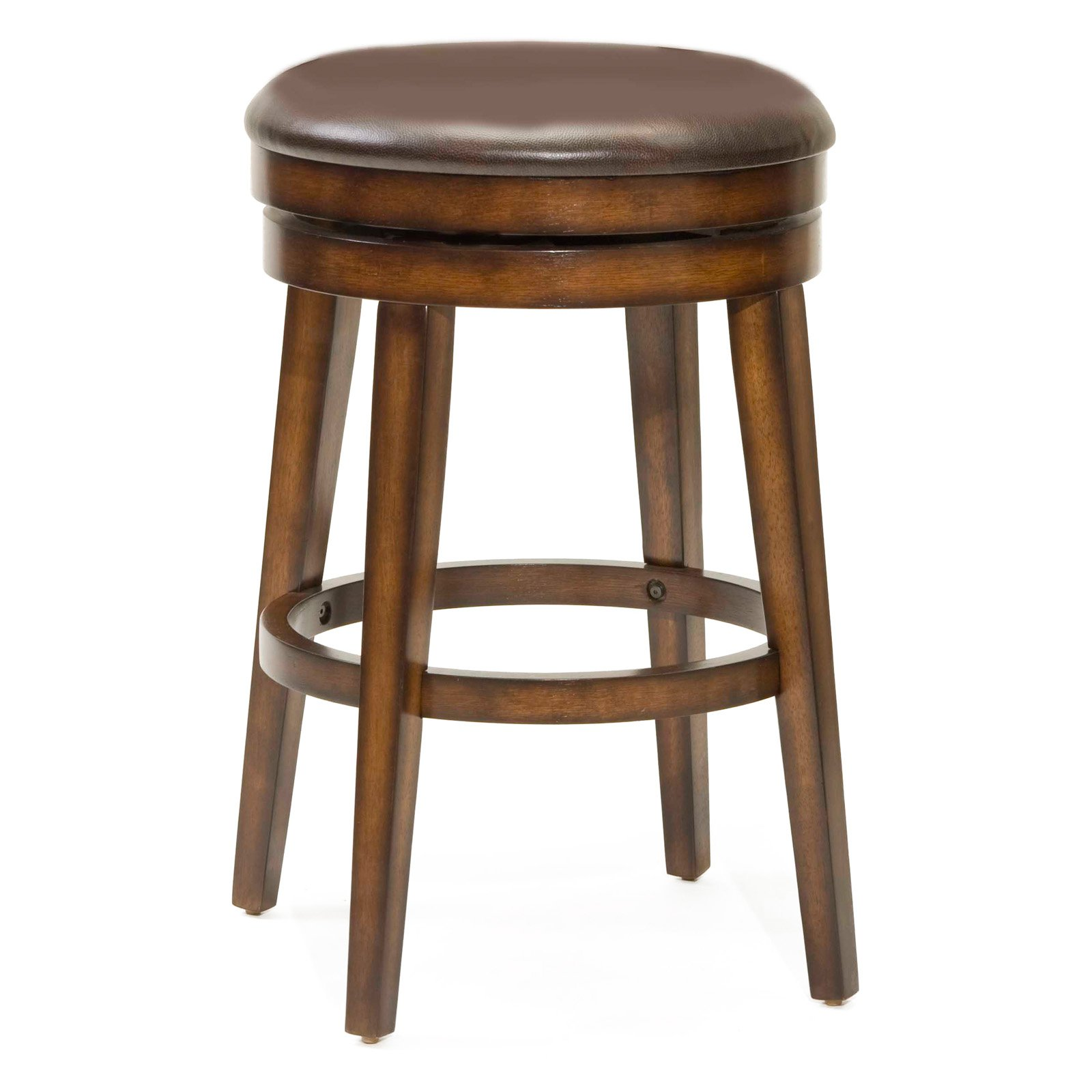 Brilliant Hillsdale Beechland 30 5 In Backless Swivel Bar Stool Walmart Com Unemploymentrelief Wooden Chair Designs For Living Room Unemploymentrelieforg