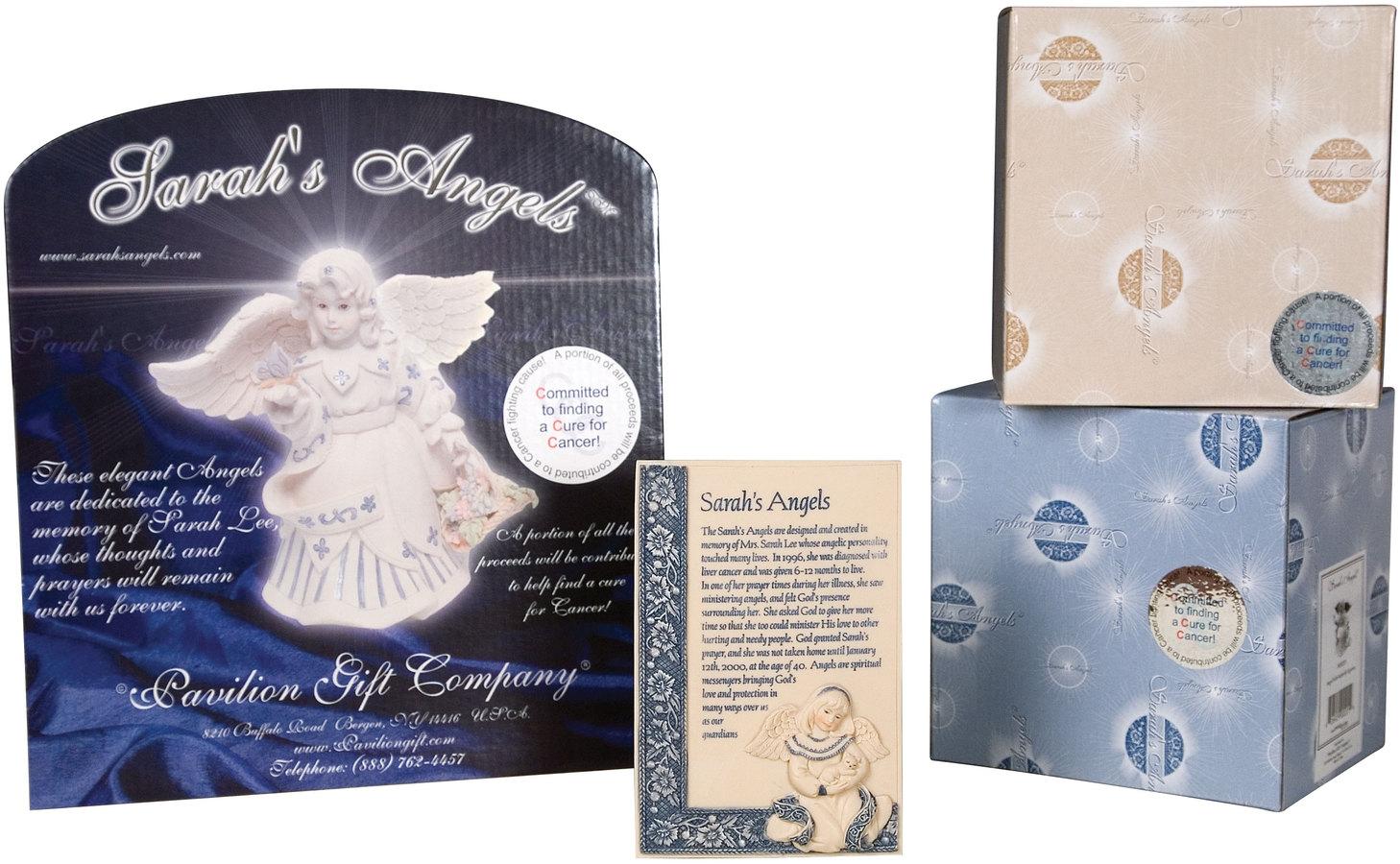 Angel Figurine Holding Baby 3.5 Pavilion Gift Company 06194 Pavilion