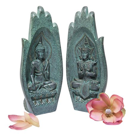 Design Toscano Namaskara Mudra Buddha Hands Statue