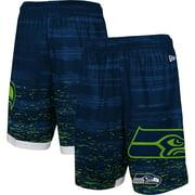 Seattle Seahawks New Era Training Daze Shorts - College Navy
