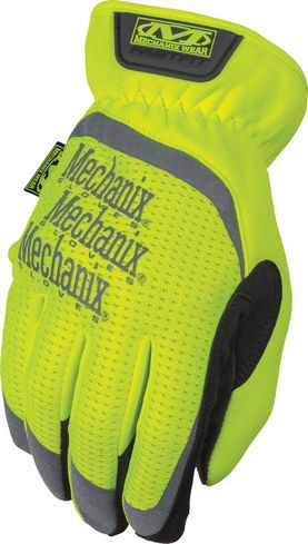 Mechanix Wear SFF-91-010 Large Hi-Viz Yellow Safety FastFit Gloves by Mechanix Wear