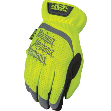 Mechanix Wear SFF-91-010 Large Hi-Viz Yellow Safety FastFit® Gloves
