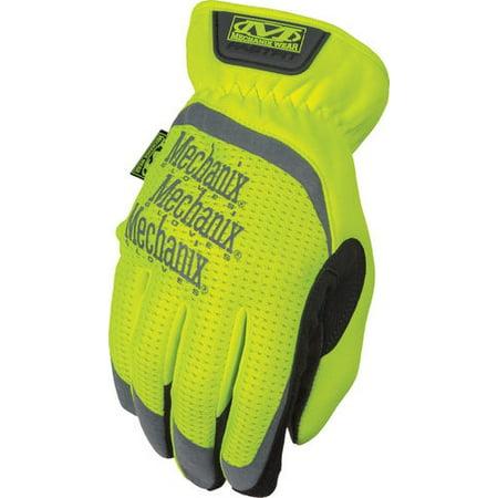 Mechanix Wear SFF-91-010 Large Hi-Viz Yellow Safety FastFit® Gloves ()