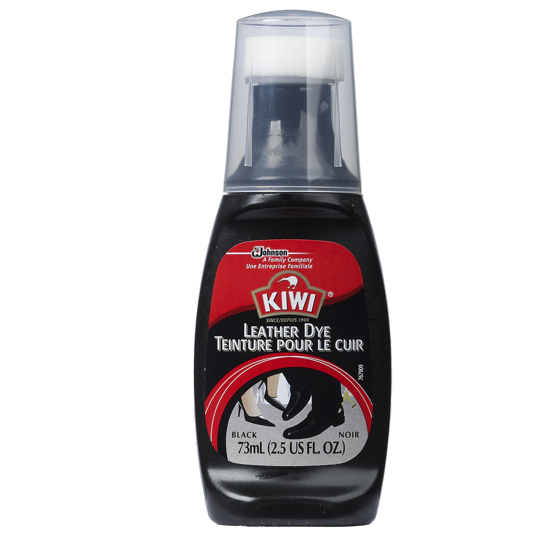 KIWI Leather Dye Black 2.5 Fluid Ounces