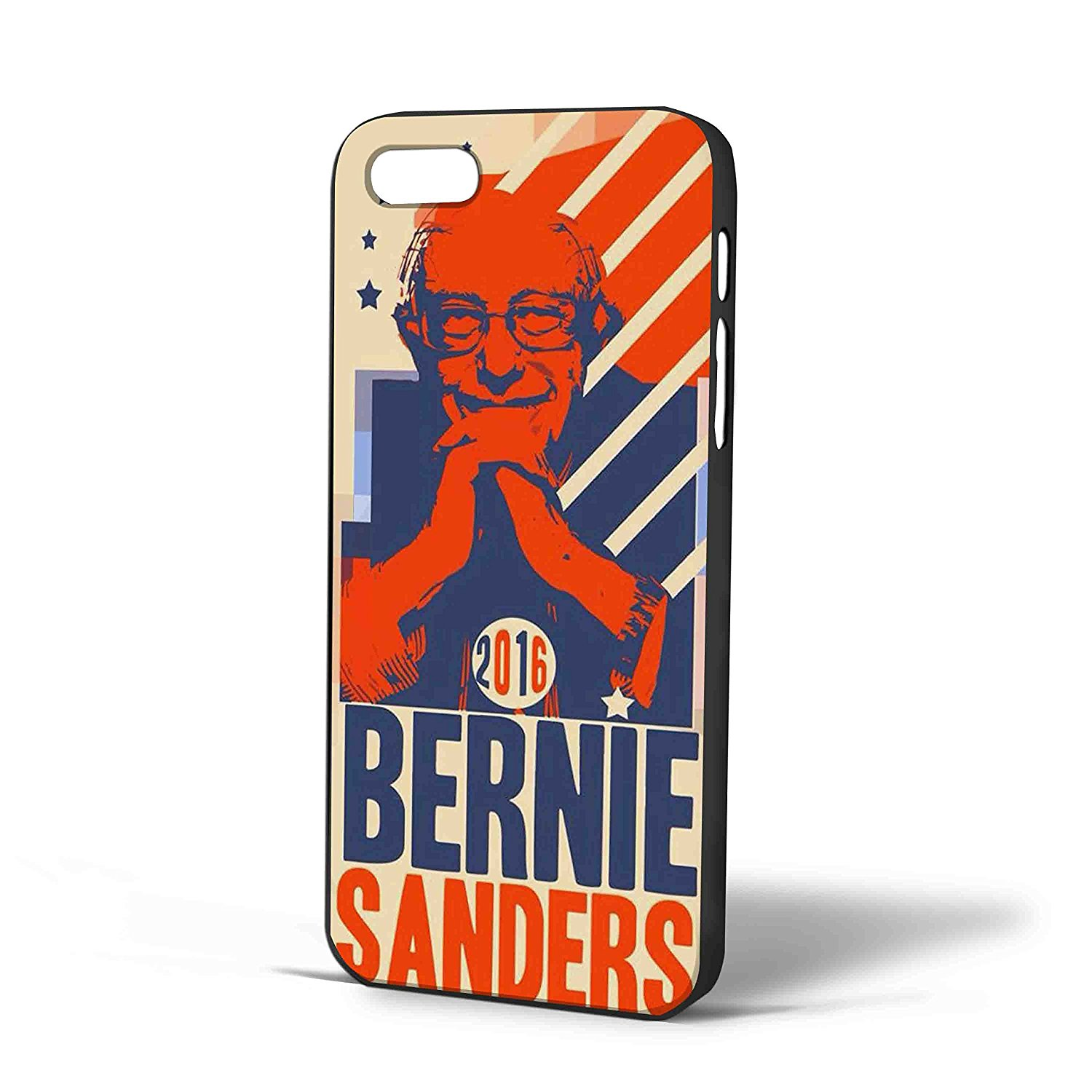 Ganma Bernie Sanders 2016 Art Case For iPhone Case (Case For iPhone 6 White)