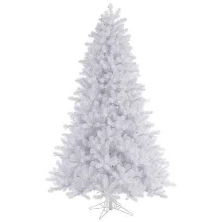 - Vickerman 4.5' Crystal White Pine Artificial Christmas Tree, Unlit