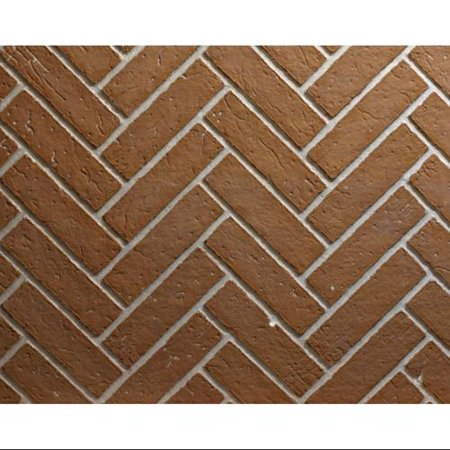 Ceramic Fiber Liner for Deluxe Fireplaces - Herringbone Brick