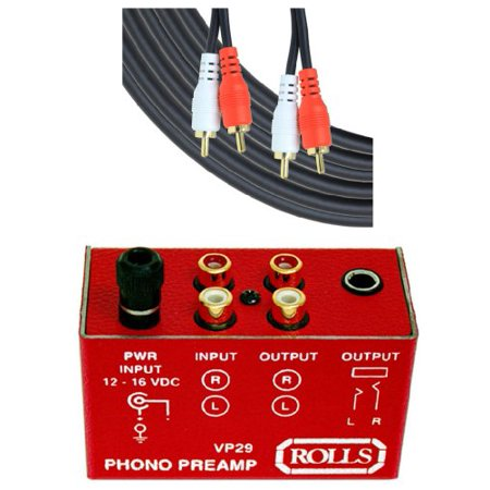 Rolls Phono Preamp (VP29)
