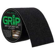 """Anti Slip High Traction Grip Tape for Stairs, Steps, Indoor, Outdoor - Black (4"""" x 34 Feet)"""