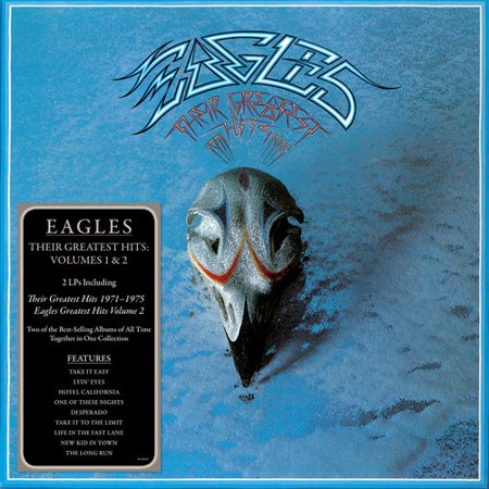 The Eagles - Their Greatest Hits Volumes 1 & 2 (CD)