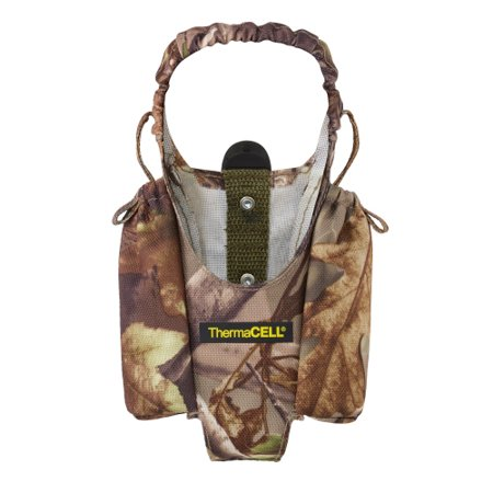 Thermacell Mosquito Repellent Realtree Xtra Green Holster Thermacell Mosquito Repellent Realtree Xtra Green Holster: An essential accessory for your Thermacell repellent unit, the Thermacell Personal Repellent Holster Accessory with Clip provides a perfect way to bring your odorless, noiseless repellent unit with you on the trail or out onto the lakeThe holster is made from soft, 100 percent nylonA plastic belt clip lets you keep the holster upon your person hands-free while a nylon enclosure loop lets you remove and replace the unit easilySide pockets let you keep extra cartridges or repellent mats with you at all timesRepellent unit is not included