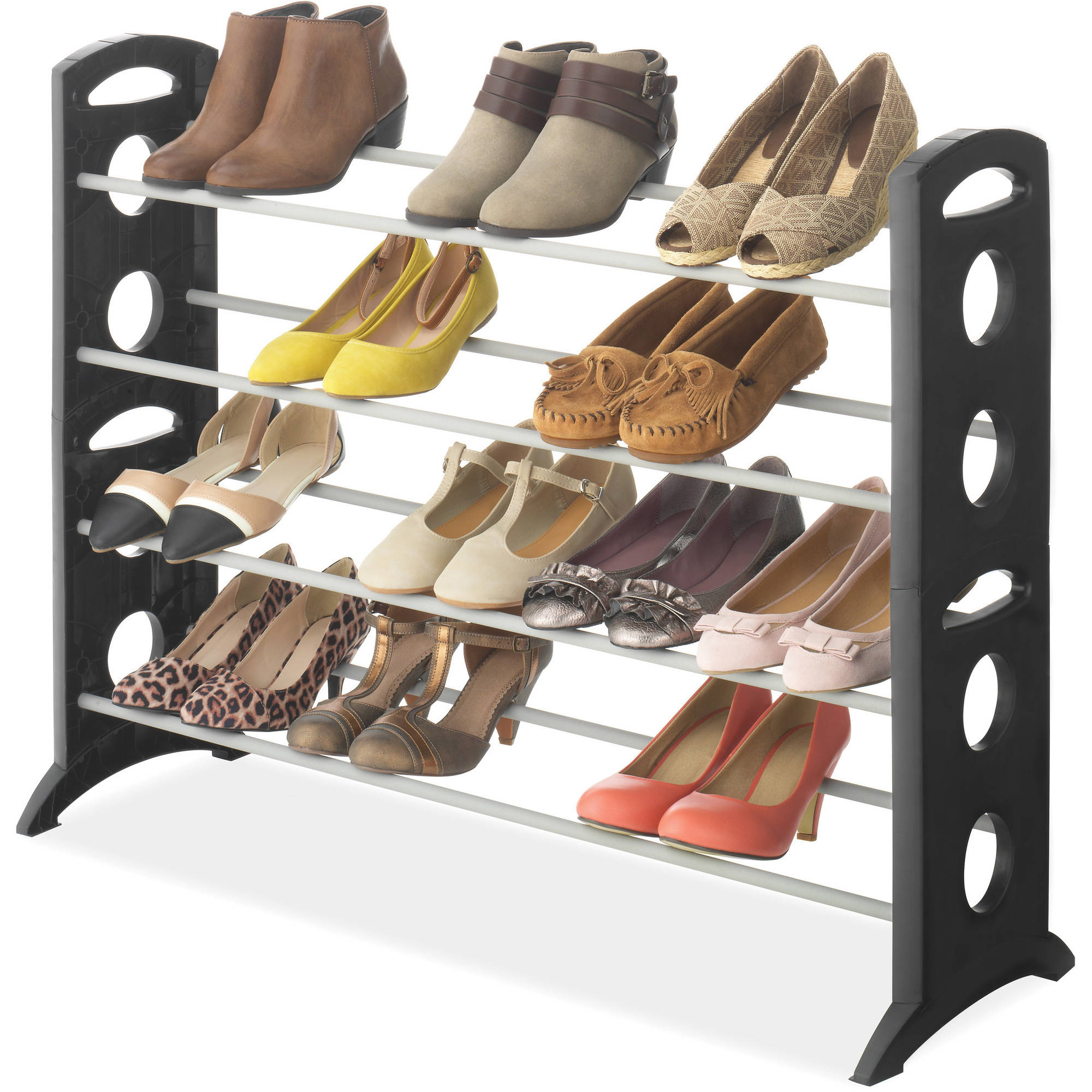 Whitmor Floor 20 Pair Shoe Stand