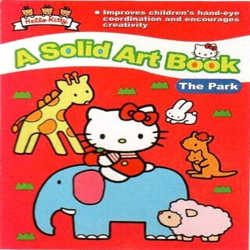 Hello Kitty A Solid Art Book: The Park by