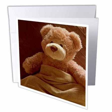 3dRose Home Sick from The Bearfoot SocietyTM, Greeting Cards, 6 x 6 inches, set of 12