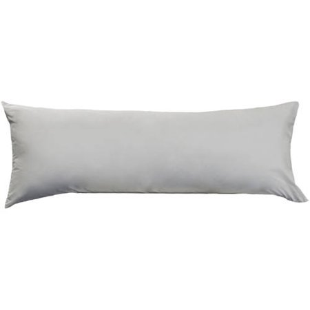 AllerEase Zippered Allergy Protection Body Grey Pillow Protector, 1
