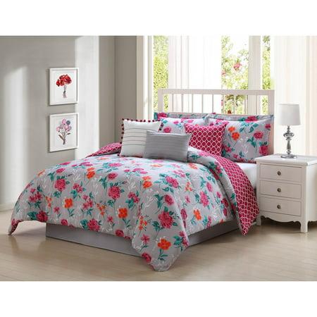 Studio 17 Kimley Queen Reversible 7-Piece Comforter Set ()