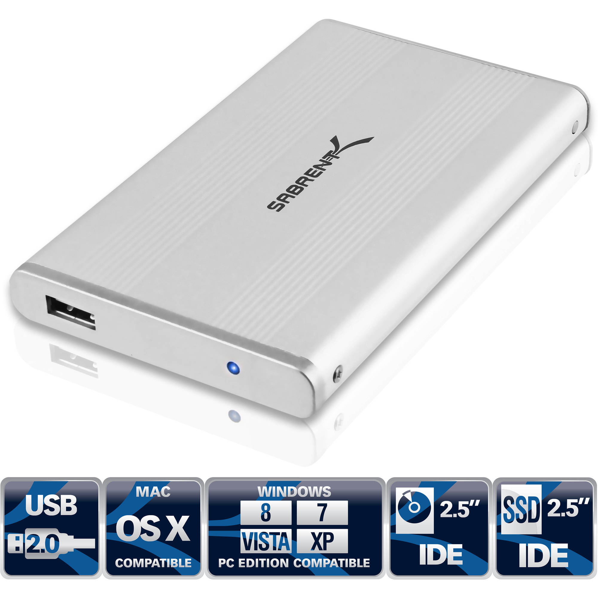 "Sabrent 2.5"" USB-IDE HDD Enclosure"