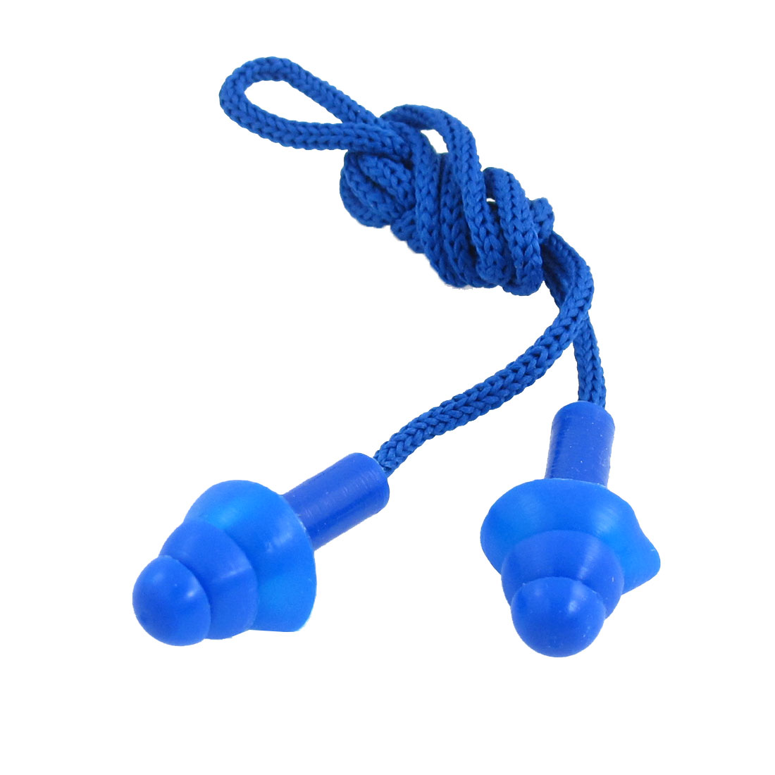 Unique Bargains Silicone Swim Trainning Swiming Earplugs Ear Plug w Storage Box