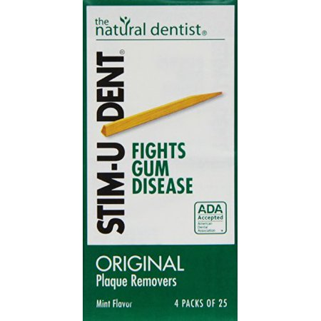 - Stim-U-Dent Plaque Removers Mint 100 Each X 9 = 900 picks