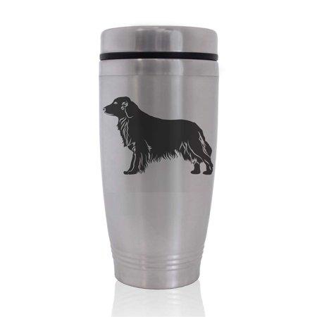 Commuter Travel Coffee Mug - Golden Retriever Dog