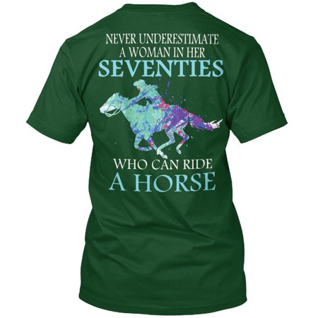 Never Western Seventies Woman Shirt Hanes Tagless Tee - Seventies Clothes