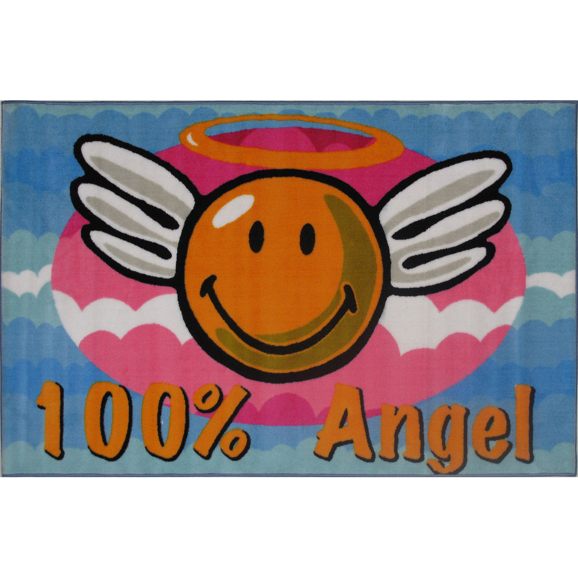 "Fun Rugs Smiley Angel 19"" x 29"" Rug"