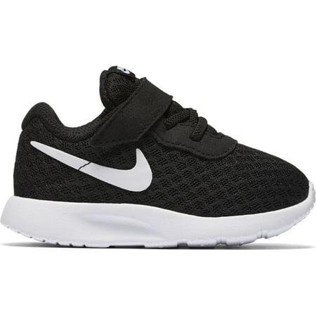 eae3057a3e1cb9 Nike 818383-011  Tanjun Infant Toddler Black White Sneakers (6 M US ...