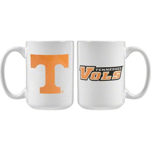 NCAA - Tennessee Volunteers 15 oz. White Mug