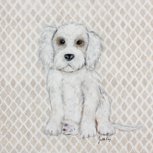 Judith Raye Paintings LLC Labradoodle Canvas Art