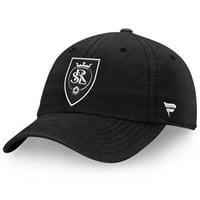 Real Salt Lake Fanatics Branded Tonal Fundamental Snapback Adjustable Hat - Black - OSFA